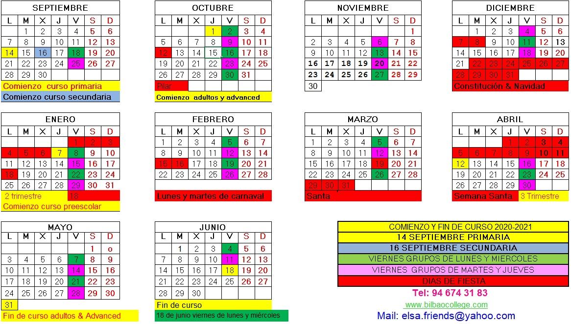 Calendario-2020 2021